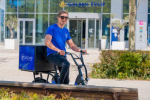 Livreur en vélo à Lyon