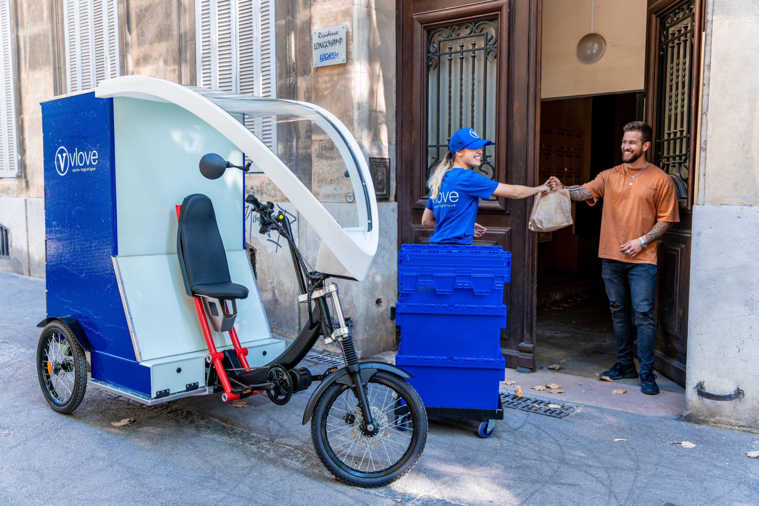 Livraison en vélo-cargo à Nantes
