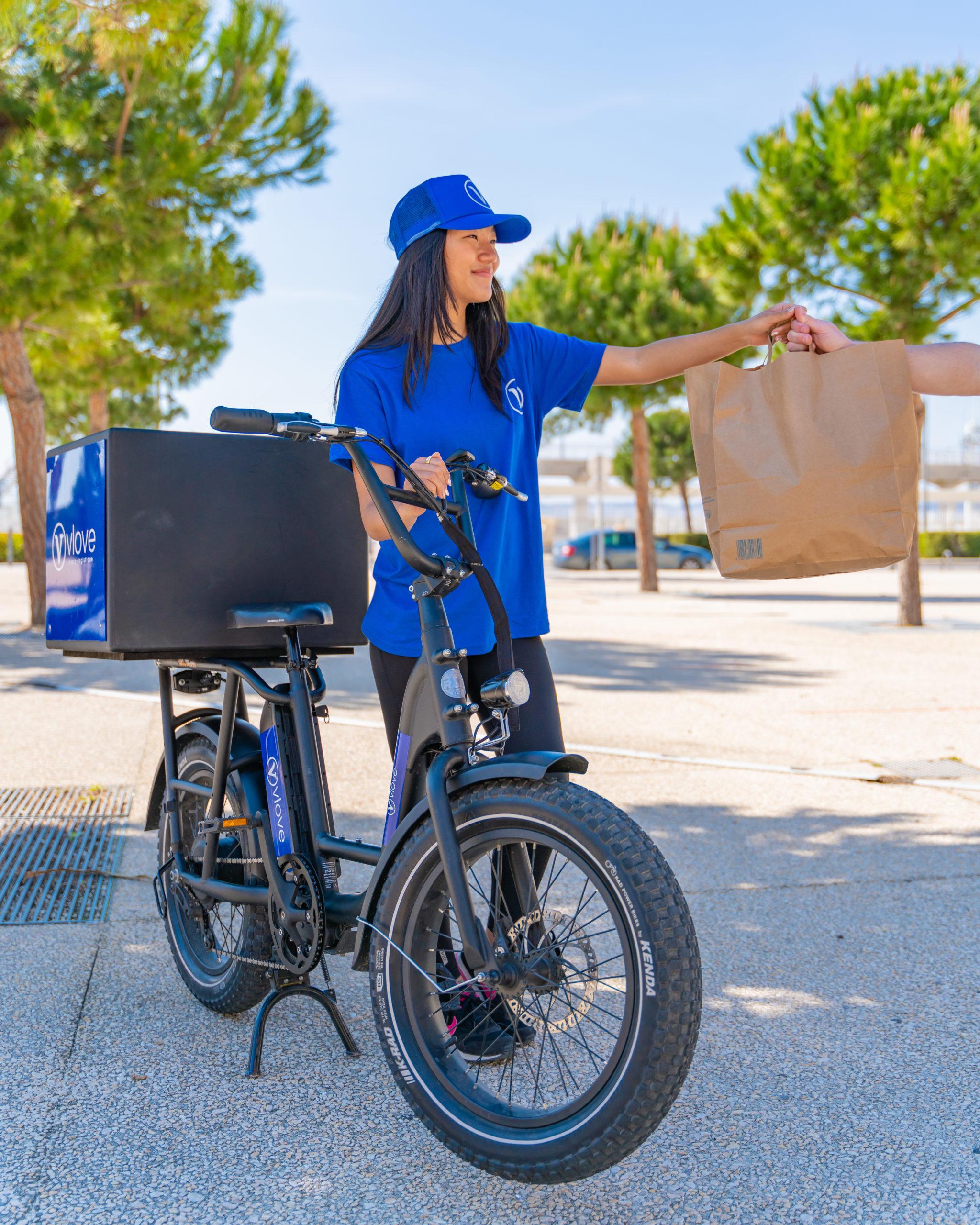 Livraison repas restaurant en vélo
